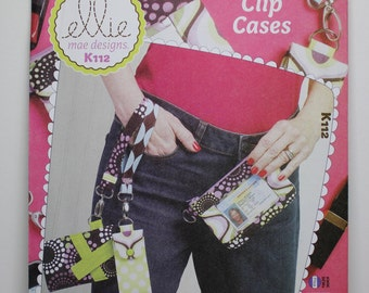Clip Cases:  Pattern for making purse or bag to attach to a person.