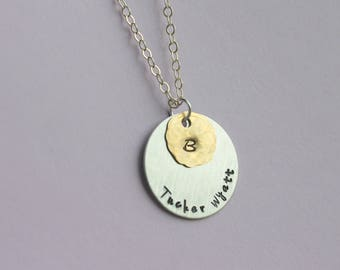 Family Necklace Grandmother Necklace Mothers Necklace Gift for Grandma Nana Mom Necklace Children's Names Necklace