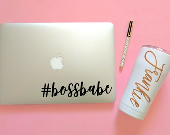 Name Decals | Personalized Stickers | Personalized Decal | Laptop Sticker | Tumbler Sticker