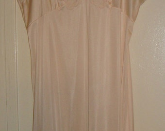 Peach Night Gown