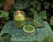 Wishing Well Candle - 2 oz. Beeswax Candle containing lucky Irish or British Coin