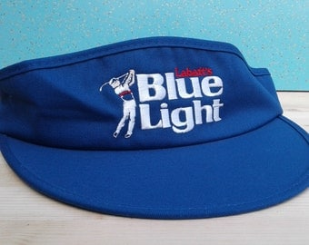 Vintage Labatt's Blue Light DEADSTOCK Sun Hat / Golf Visor
