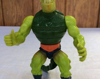 Whiplash Vintage MOTU Action Figure, He-Man Masters of the Universe, 1983