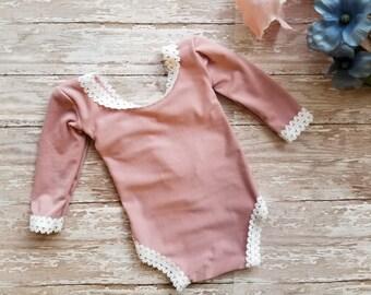Newborn Romper, Baby Girl Romper, Newborn Girl Romper, Photography Prop, Newborn Props, Newborn Girl Outfit, Girl Photo Prop