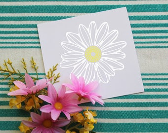Daisy Vinyl Decal