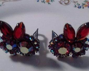 VINTAGE Style Clip On Earrings-
