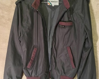 Vintage 80's Members Only Cafe Racer Jacket (Small)