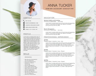 modern resume template cv template professional and creative resume word resume instant - Creative Resumes