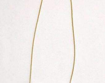 Simple White Kenyan Bone Bead Necklace