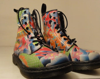 Doc Marten Colorful Great Quality 8.5/9 Women's