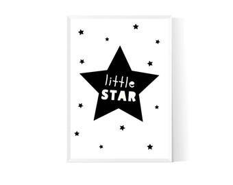 Star nursery| Star nursery décor| Star nursery art| Star nursery print| Star nursery wall décor| Star nursery digital download| Nursery