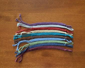 Solid Color Friendship Bracelet