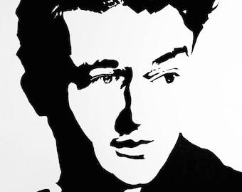 4x6 John Wayne Art Print