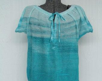 60's or 70's Courrèges knit top