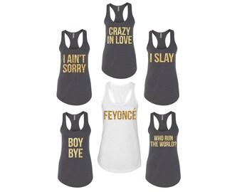Feyonce, Feyonce Tank, Feyonce Shirt, Bridesmaid Tanks, Bridal Party Tanks, Beyonce Bridesmaid, Beyonce Feyonce, Digital File, DXF, Cut File