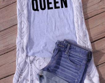 Queso Queen Tee, women's tee, women's shirt, women's tshirt, tee, women's clothing, queen clothing, shirt, tshirt