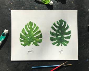 Leaf vs. Leaf