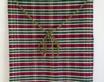Bulgarian apron - Handwoven Apron - handmade wool apron - has never been used - gift idea - Vintage traditional Bulgarian aprons