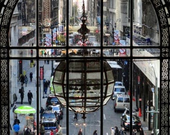 People at Fifth Avenue in New York City