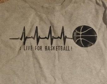 Live for Basketball kid's t-shirt