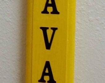 3 ft Personalized Decorative Pencil