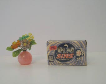 Wash Away Your Sins Novelty Cleansing Soap Bar from Blue Q