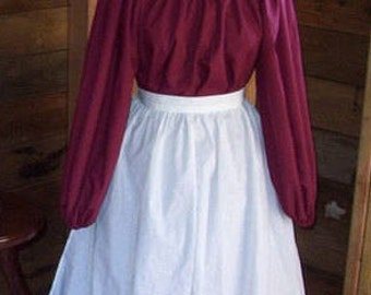 Reenactment Renaissance Dress Only Colonial Victorian Steampunk Colors Available