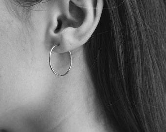 """Hoop Earrings 1"""""""