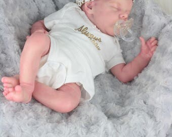 TWIN A by Bonnie Brown Reborn Baby Doll with Certificate of Authenticity NO HAIR.... To be made