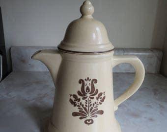 Pfaltzgraff Village Coffee Pot