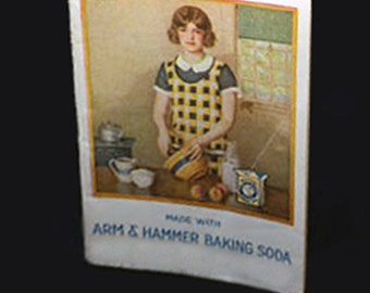 Arm & Hammer Baking Soda, 83rd Edition from 1925