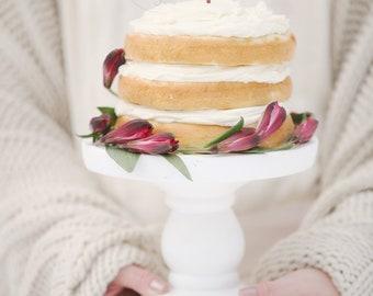 Cake Topper | Mr & Mrs | Heart | Calligraphy | Metallic | Gold | Glitter | Wood | Rose Gold | Custom