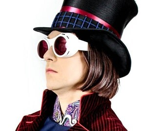 Willy Wonka Top Hat Replica Prop - Tim Burton's Charlie and the Chocolate Factory