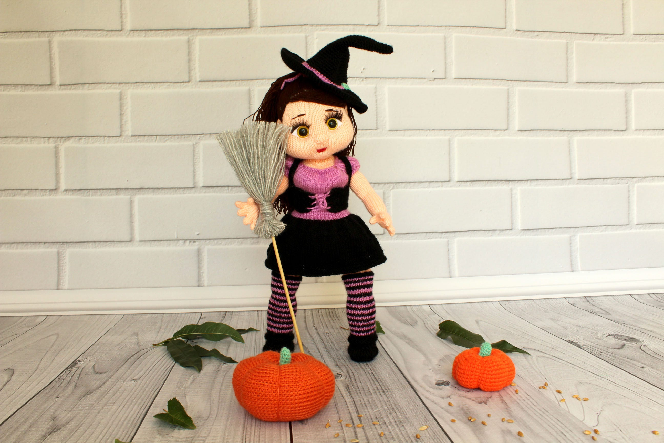 Halloween Witch Doll Halloween Gift Christmas gift doll