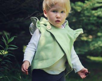 Fall Vests Reversible Vests  Upcycled Wool Vests Vintage Vests