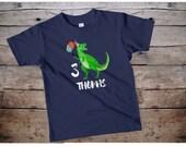 Dinosaur birthday shirt, dinosaur shirt boys, dinosaur birthday boy, custom birthday shirt boy, custom name shirt, kids name shirt, name tee