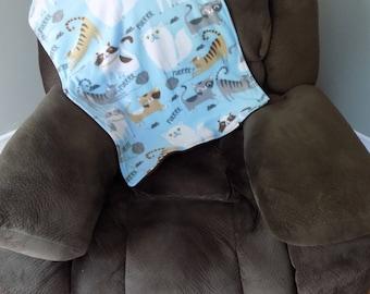 Cat Fleece Blanket - Pet Bedding