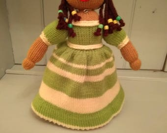 Topsy Turvy Upside Down Knitted Doll