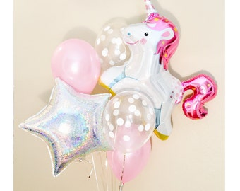 Unicorn Balloons, Unicorn Party, Unicorn Latex Set, Unicorn Birthday, Stars and Unicorn, Be a Unicorn, Unicorn Magic, Unicorn Birthday Party