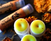 Organic Lip balm - Eggnog Lip Balm - Herb infused balm