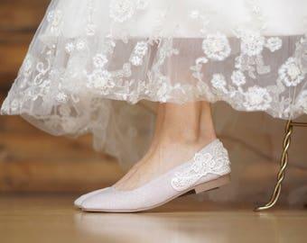 Wedding flats etsy champagne wedding flatswedding shoesballet flatsreception shoes sparklebridesmaid junglespirit Choice Image