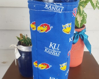 University of Kansas, KU Jayhawks Wine Bag