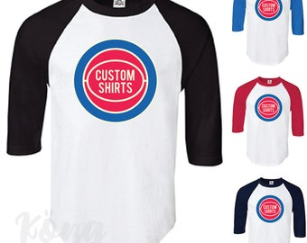 Detroit pistons etsy for Custom t shirts detroit