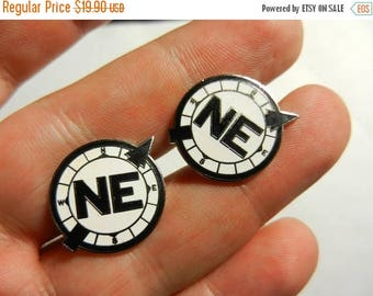 Summer Sale Vintage Nautical North East Compass Cuff links