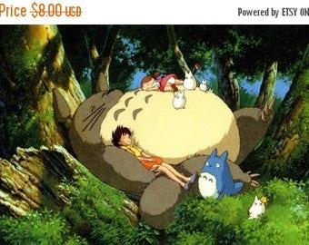 "Totoro Counted Cross Stitch Totoro Pattern korsstygn korssting Wzór graficzny Miyazaki pattern - 31.50"" x 16.93"" - L830"