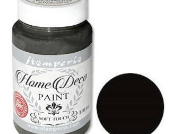 Painting Home Deco Soft Color 110 ml - black