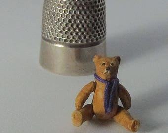 Miniature articulated Teddy Bear