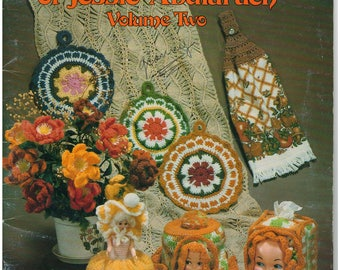 Crochet Pattern Book - Crocheted Favorites & Originals of Jessie Abularach Volume 2 – Craft Book – Crochet and Knit Patterns
