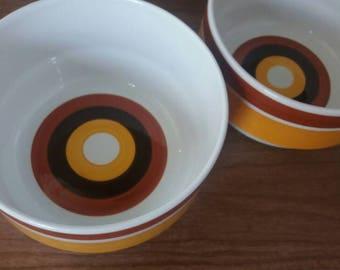 By rörstrand Salad Bowl, by Rörstrand Fokus, Rörstrand, Rörstrand baking dish, Swedish design, Scandinavian design, Christmas gift, 70s crockery, 70s