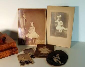 Victorian Photographs of Children, Old Photographs, Prim Victorian Girls,Collectible Photos Victorian Dress, Victorian Child, Antique Photos